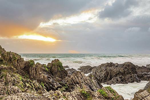 Seaside sunset by Jeremy Sage