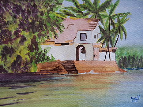 Seaside villa in Goa by Dipali Deshpande