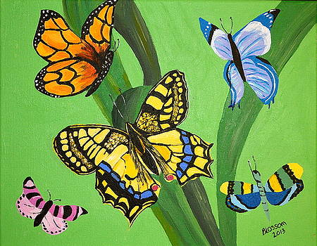 Season Of Butterflies by Donna Blossom