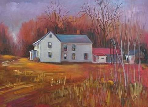 Seasons End On The Farm by Nita Leger Casey