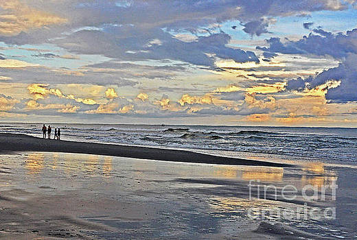 Seaside Reflections by Lydia Holly