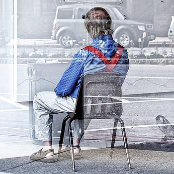 Seated Man by Geoffrey Coelho