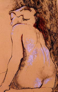 Seated Nude by Ruth Mabee