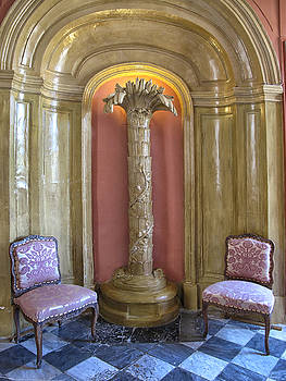 Seating Area in a Chateau by Dave Mills
