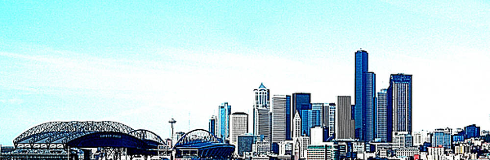 Nick Gustafson - Seattle Blue