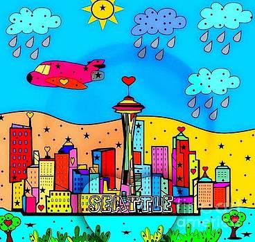 Seattle by NICO BIELOW by Nico Bielow