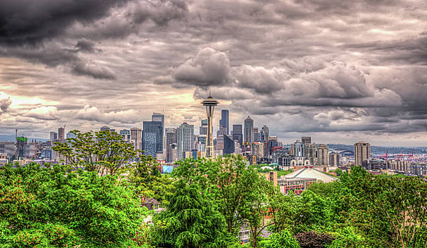 Seattle Cityscape by Spencer McDonald