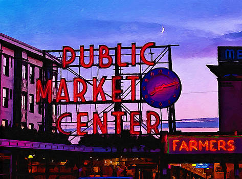 Seattle Farmers Market by William Wooding