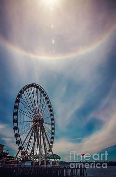 Seattle Great Wheel by Joan McCool