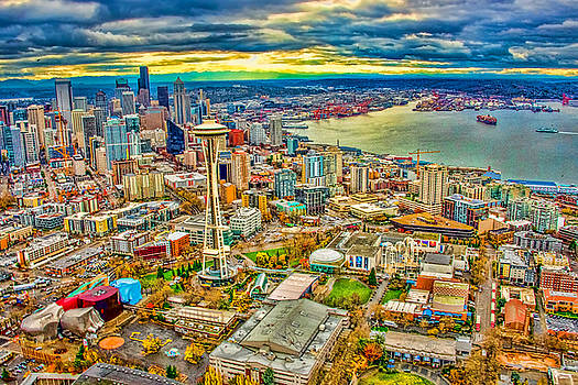 Seattle by Jerry Cahill