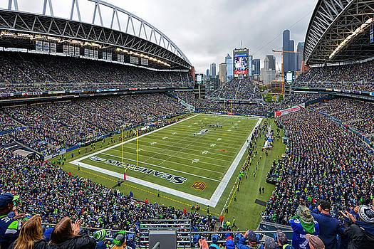 Seattle Seahawks CenturyLink Field by Mark Whitt