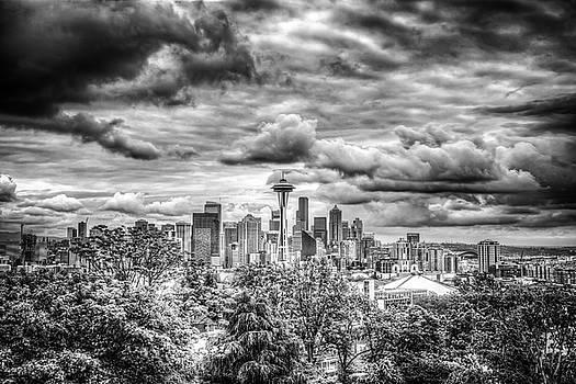 Seattle Skyline by Spencer McDonald