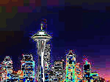 Tim Allen - Seattle Skyline