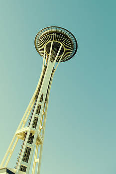 Seattle Space Needle by Stephanie McDowell
