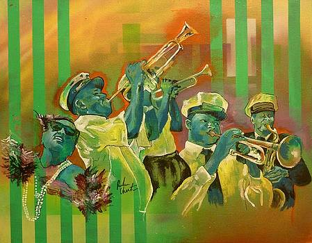 Second Line 2 by Reuben Cheatem