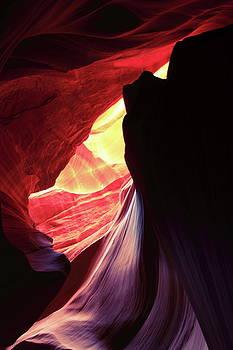 Secret Canyon Colors by Roupen  Baker