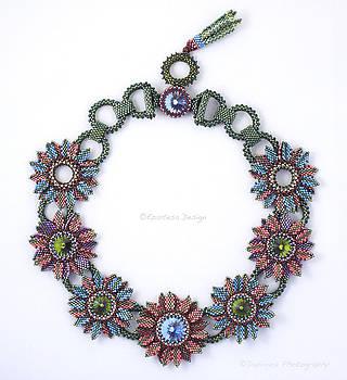 Secret Garden - Beaded jewelry by Ezartesa