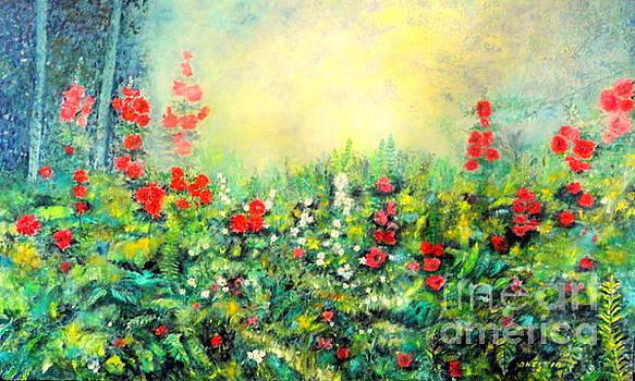Secret Garden 2 - 150x90 Cm by Dagmar Helbig