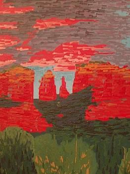 Sedona 1 by Samuel Freedman