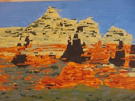 Sedona 2 by Samuel Freedman