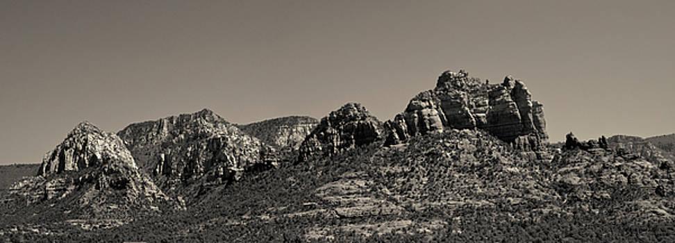 David Gordon - Sedona Arizona Panorama II Toned