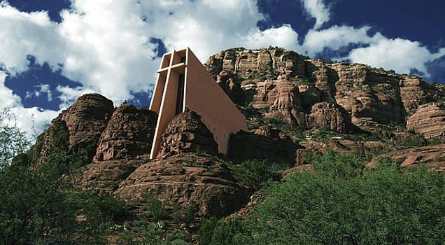 Sedona chapel by Jim Wright