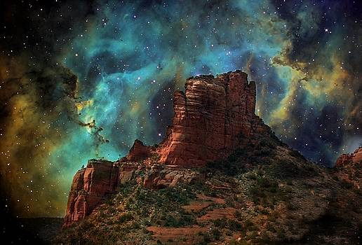 Sedona Vortex Galaxy by Barbara Chichester