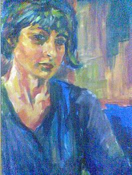Self Portrait by Fareeha Usman