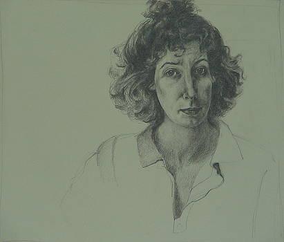 Self-portrait by Jackie Hoats Shields