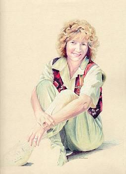 Self Portrait by Robynne Hardison