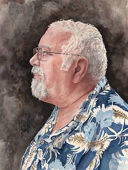 Self Portrait by Sam Sidders