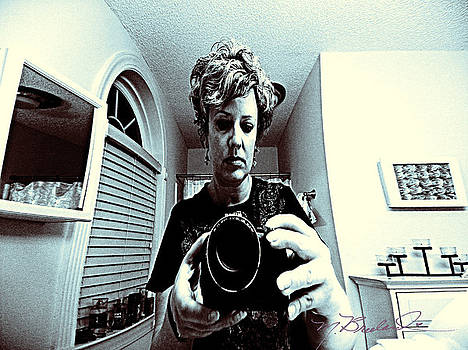 Self Portrait With Nikon by Melissa Wyatt