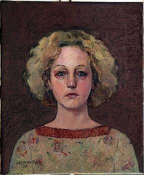 Selfportrait by Liubov Meshulam Lemkovitch