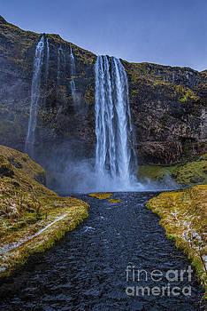 Seljalandsfoss Waterfall Iceland by Chris Thaxter