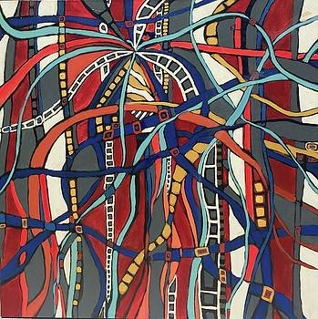 Senderos # 17 by Jeffrey Davies