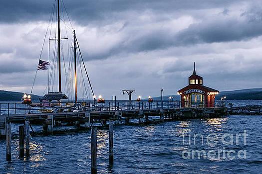 Seneca Lake Boathouse by John Greim