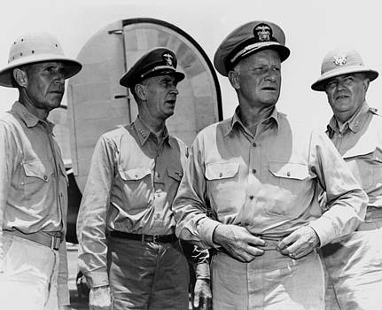 Senior Naval Officers WW2 - Nimitz, King, Etc. by War Is Hell Store
