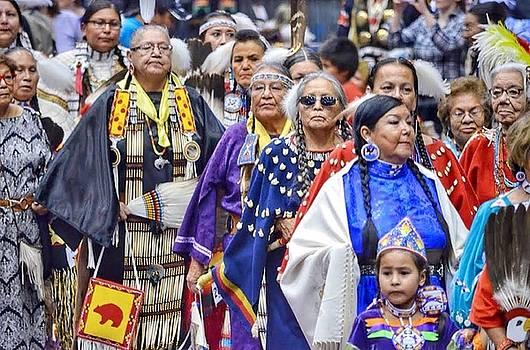 Senior Traditional Women by Clarice Lakota