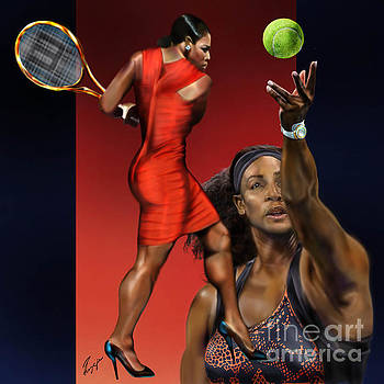Sensuality Under Extreme Power - Serena The Shape Of Things To Come by Reggie Duffie