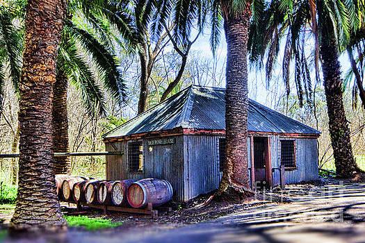 Seppeltsfield Winery Pump House by Douglas Barnard