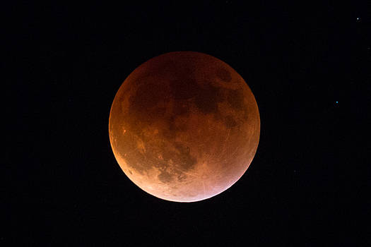 September 27 Super Moon Eclipse by John Daly