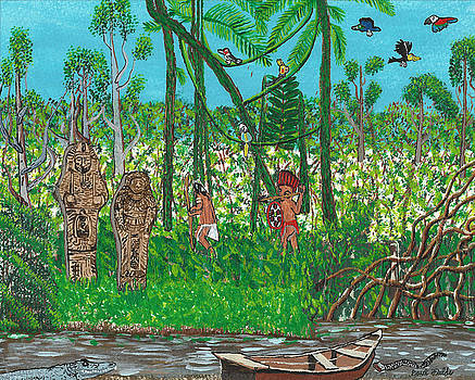 September   Hunters in the Jungle by Paul Fields