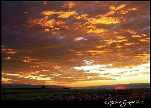 September Sunset Sky by Melinda Swinford