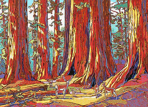 Sequoia Deer by Nadi Spencer
