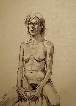 Sera Sketch No. 10 by Ray Agius