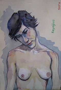 Sera Sketch No.7 by Ray Agius