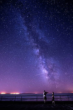 Serenade Under Milky Way by Okan YILMAZ