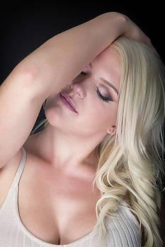 Serene Blonde by Monte Arnold