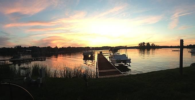 Serene Sunset by Rebecca Wood