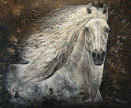 Serenity by Paula Collewijn -  The Art of Horses